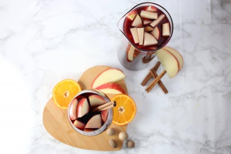 Apple Cider Sangria topshot