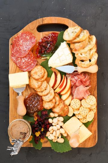 Trader Joe's Cheese Board