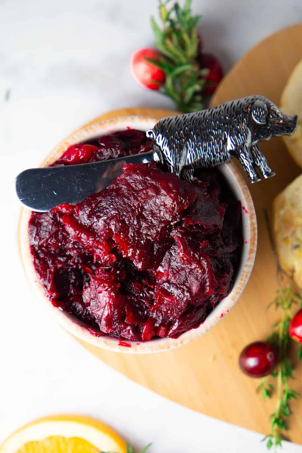 Best ever cranberry sauce
