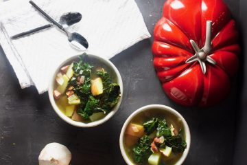 Sausage Potato Soup with Kale