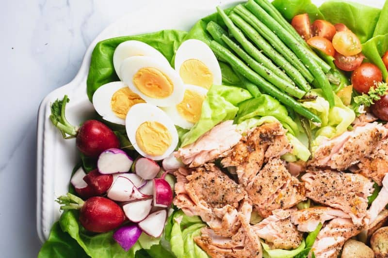 Salmon Nicoise Salad - Whole30